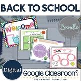 Back to School Activities   Google Slides   Beginning of t