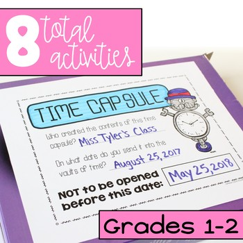 """Back to School Activities (Grades 1-2) """"Get to Know You"""" First Week of School"""