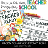 "Back to School Activities ""How to Get Your Teacher Ready for School"""
