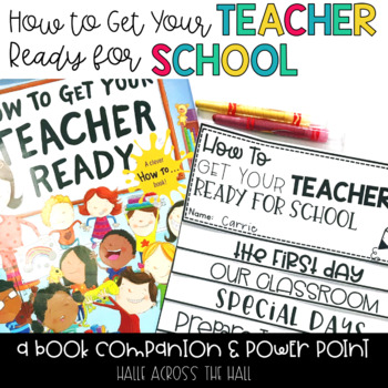 """Back to School Activities """"How to Get Your Teacher Ready for School"""""""