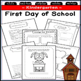Kindergarten First Week of School