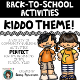 Back-to-School Activities! LOTS of Printer-Friendly Pages