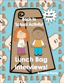 Back to School Activities  Lesson Plan! Printables ELA