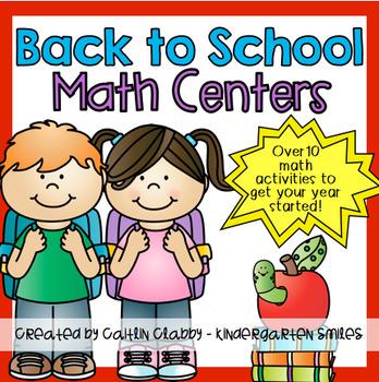 Back to School Activities (Math)