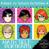 Back to School Activities - An Self-Portrait Art Project for Math Classes