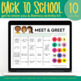 Back to School Getting to Know You and Read Aloud Pack