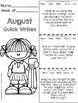 Back to School Activities Quick Writes for Upper Elementary