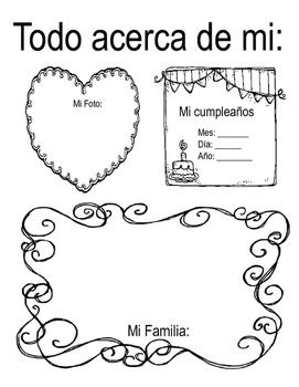 Back to School Activities (Spanish)
