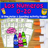 SPANISH-Back to School Spanish Activities:  Counting in Spanish - Numbers  1-20