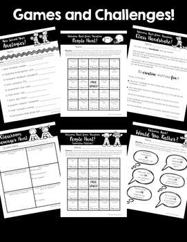 Back-to-School Activities! ~Sports Theme~ LOTS of Super FUN Pages!