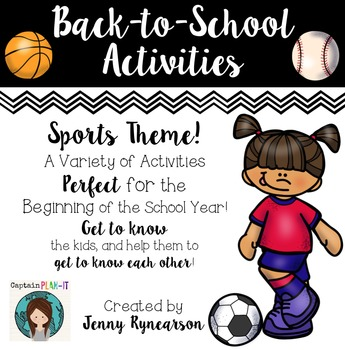 Back-to-School Activities! ~Sports Theme~ LOTS of Super FU