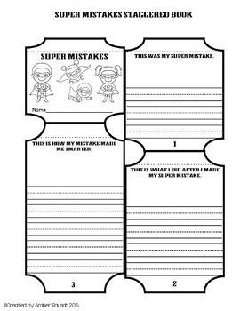 Free Growth Mindset Printables~Superhero Themed