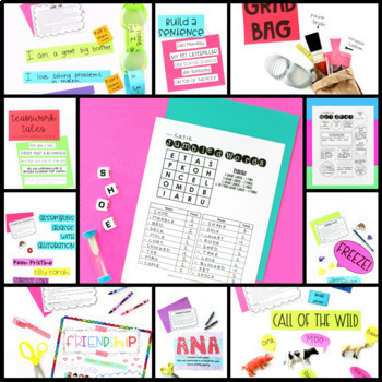 Back to School - Team Building - All About Me - First Day of School Activities