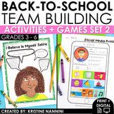Back to School Activities - First Week of School Activities - Get to Know You