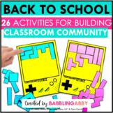 Back to School Activities   Throw Back to School