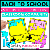 Back to School Activities | Throw Back to School