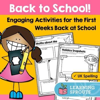 Back to School Activities: UK Spelling