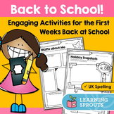 Back to School Activities: UK Spelling