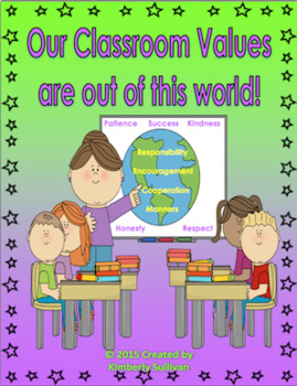 All About Me Activities! Values Lesson Plan