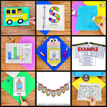 Back to School Activities and Centers MEGA BUNDLE!