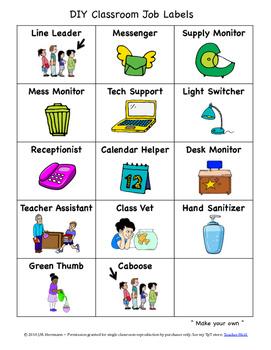 Back to School Activities, Classroom Jobs, and Teacher Resource Bundle