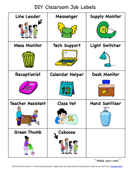 Back to School Activities, Classroom Jobs, and Teacher Resource Bundle