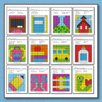 Back to School Activities for 1st grade - Back to School Coloring Pages