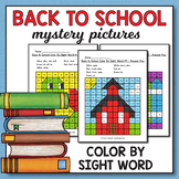 Back to School Activities for 1st grade - Back to School C