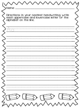 Back to School Activities for 2nd Grade