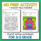 Back to School Activities for 3rd Grade - Back to School Multiplication