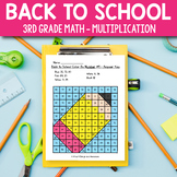 Back to School Activities for 3rd Grade - Back to School M