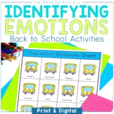 Back to School Activities for Analyzing and Understanding