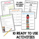 Back to School Activities for English Classes
