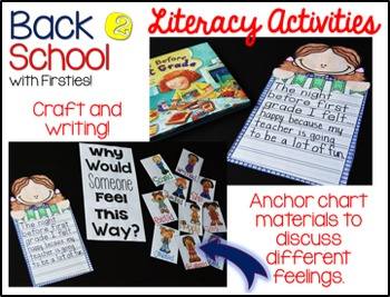 Back to School Activities for First Grade