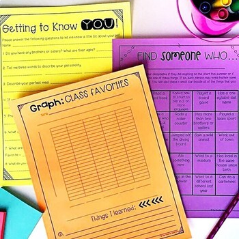 Back to School Activities for 4th Grade