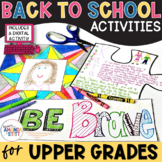 Back to School | Beginning of the Year Activity