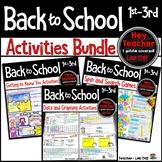 Back to School: Activities for the First Week of School Bundle