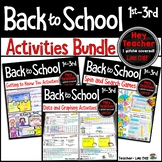 Back to School: Activities for the First Week of School Bundle