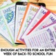 Back to School Activities for Secondary Students