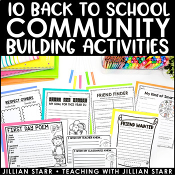 Back to School Activities to Build Community