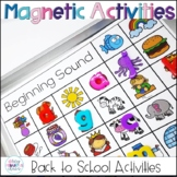 Back to School Activities with Magnets