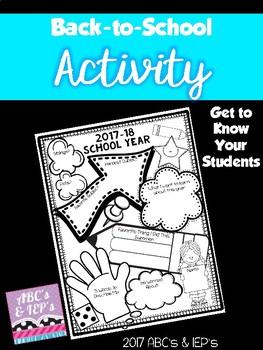Back-to-School Activity
