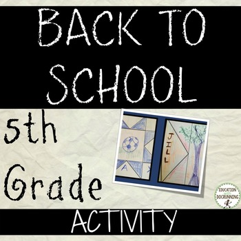 5th Grade Back to School Activity: Activities for back to school elementary