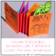 Back to School Activity - Accordion Memory Booklet