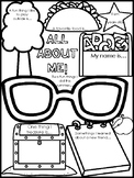 Back to School Activity: All About Me Poster