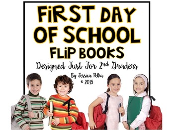 Back to School Activity Book - Perfect for the First Day of 2nd Grade!