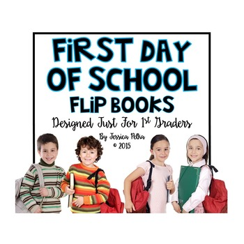 Back to School Activity Book - Perfect for the First Day of School - 1st Grade