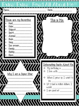 Back to School Activity Bundle