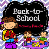 Back-to-School Activity Bundle