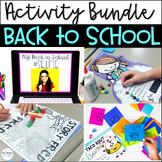 Back to School Activity Bundle Grade 3
